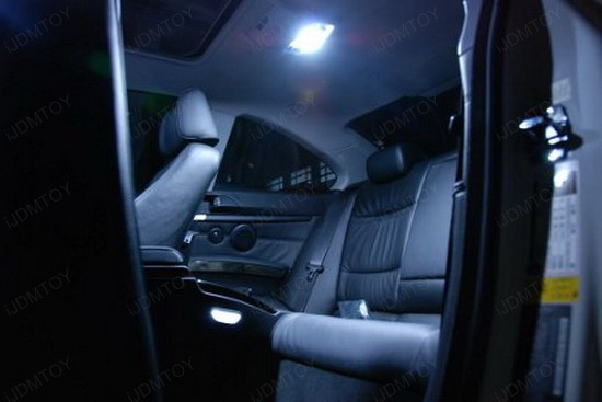 BMW - E92 - 335i - LED - interior - lights - 2